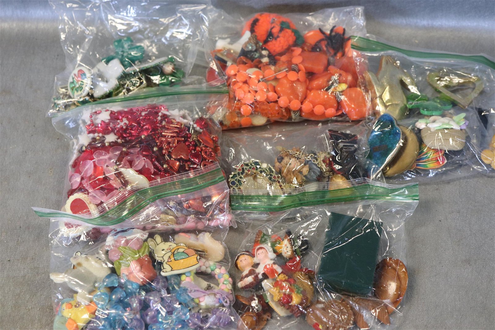 Bag Lot Costume Jewelry