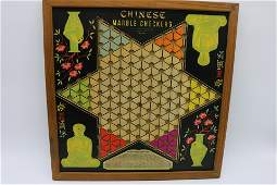 Vintage 1939 Chinese Checkers Game Board