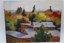 Susan F. Greaves, Oil on Board