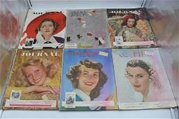 Lot of 10 Vintage Ladies Home Journal, 1948-1951