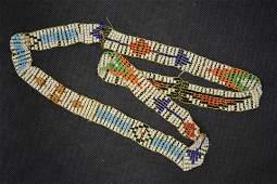 Vintage Navajo Beaded Necklace