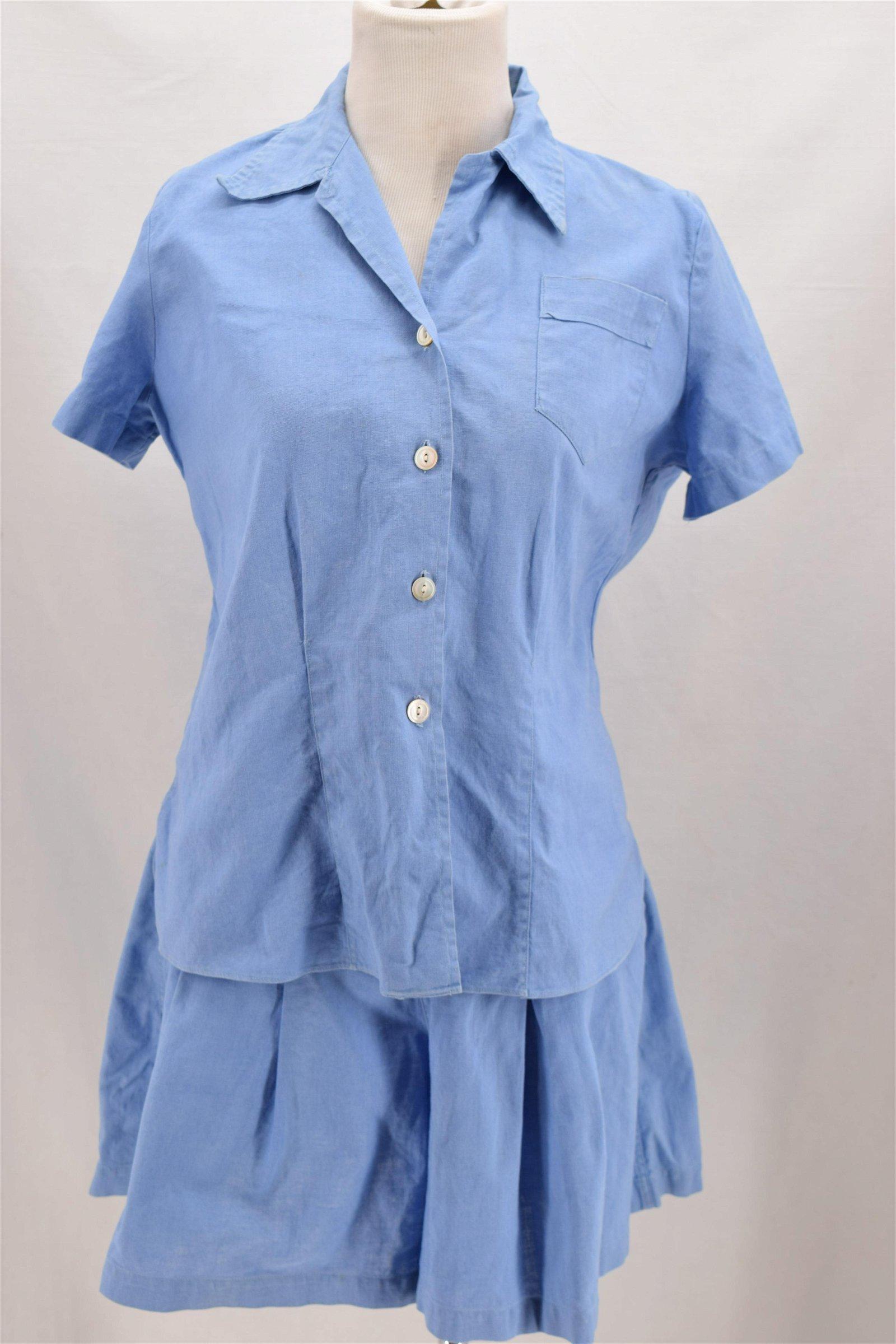 Vintage 1950's WRIGHT DITSON, Gym Uniform, 2 piece