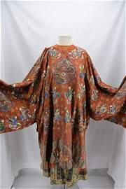 Antique Embroidered Silk Chinese Embroidered Qing