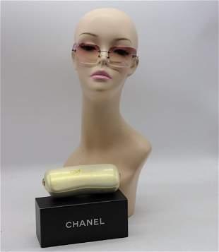 Chanel sunglasses in original box and case