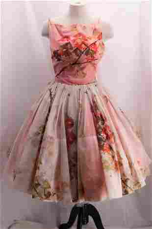 Vintage 1950's Poof Party Dress