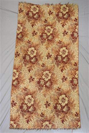 Early Antique Wool Woven Carpet, Persian