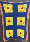 Vintage 1960/70's Crochet Afghan