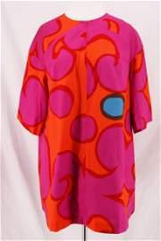 Vintage 1960's MARIMEKKO Short Sleeve Cotton Tunic