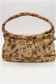 Vintage Tapestry and Beaded Purse, by ANANDA