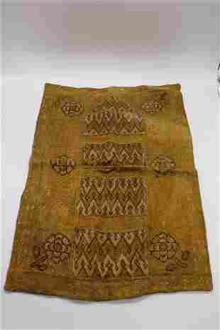 Antique Asian Hand Embroidered Textile