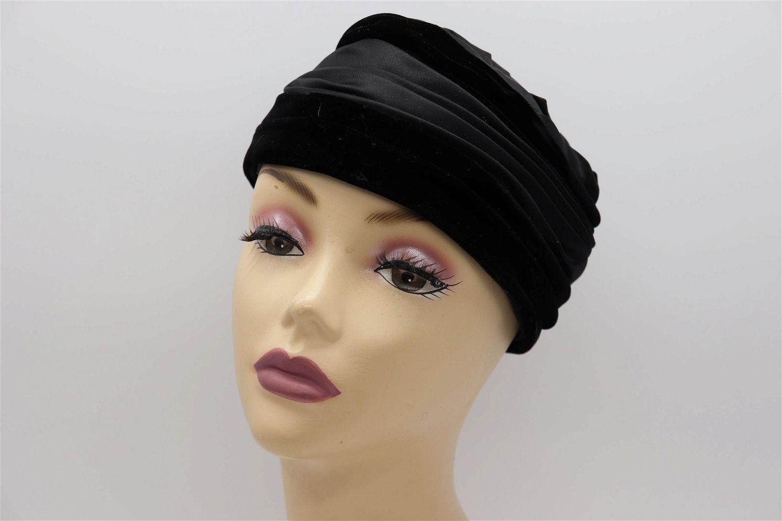 Vintage 1950's DESI Original Turban Ladies Hat