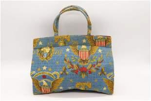 Vintage Canvas Hand Bag, MARGARET SMITH