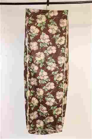 Vintage Polished Cotton Hanging Clothing Bag