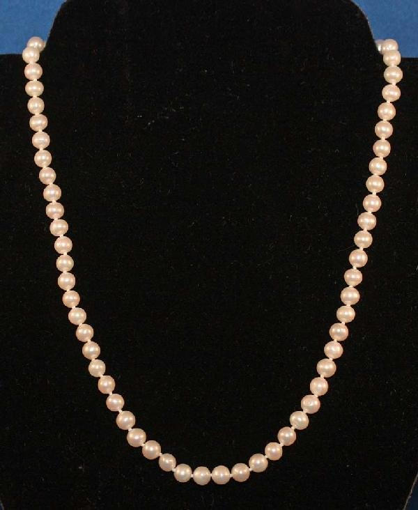 8: Pearl Necklace