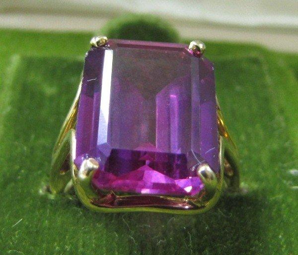 10A: 14K Alexandrite Ring