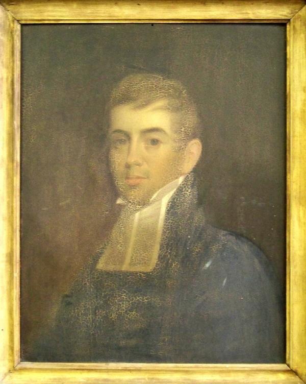 136: Minister Joshua Huntington( Gilbert Stuart)