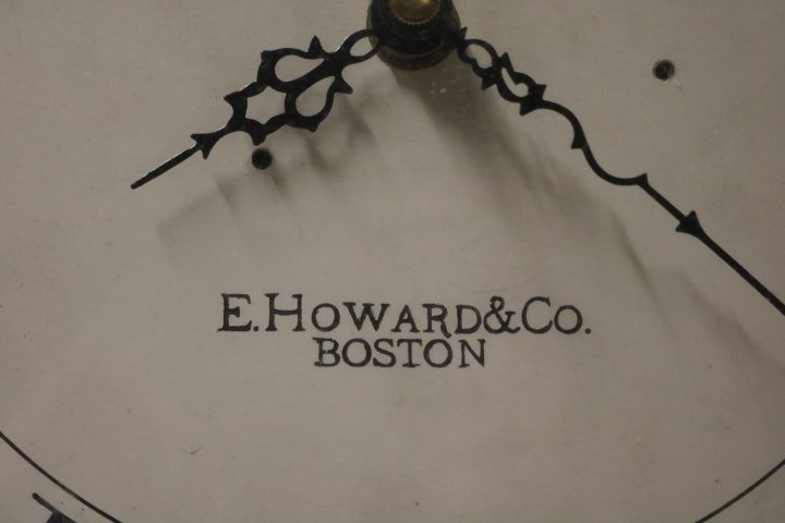 E. Howard & Co., Boston Round School House Clock - 2