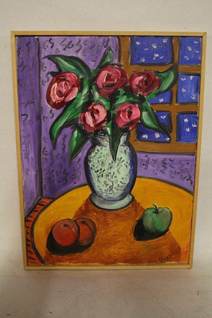 "Mark Kazavchinski, ""Nice Oil Painting"" with certificate"