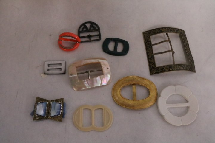 lot of Vintage Buckles