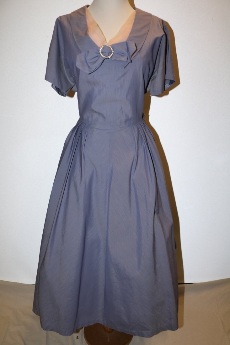 1940's Vintage Purple Party Princess Dress