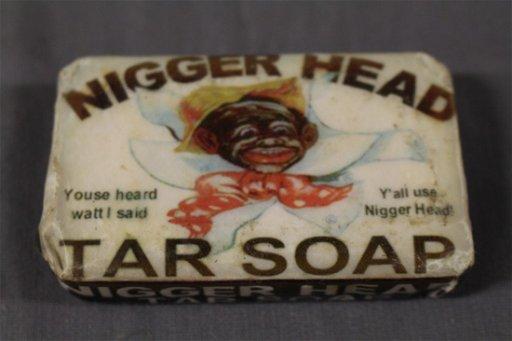 foto de Nigger Head Tar Soap - Nov 20, 2016   Denise Ryan Auctions in NH