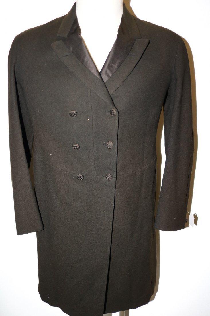 1903 Men's Double Breast Wool Suit/Tux Coat by R.