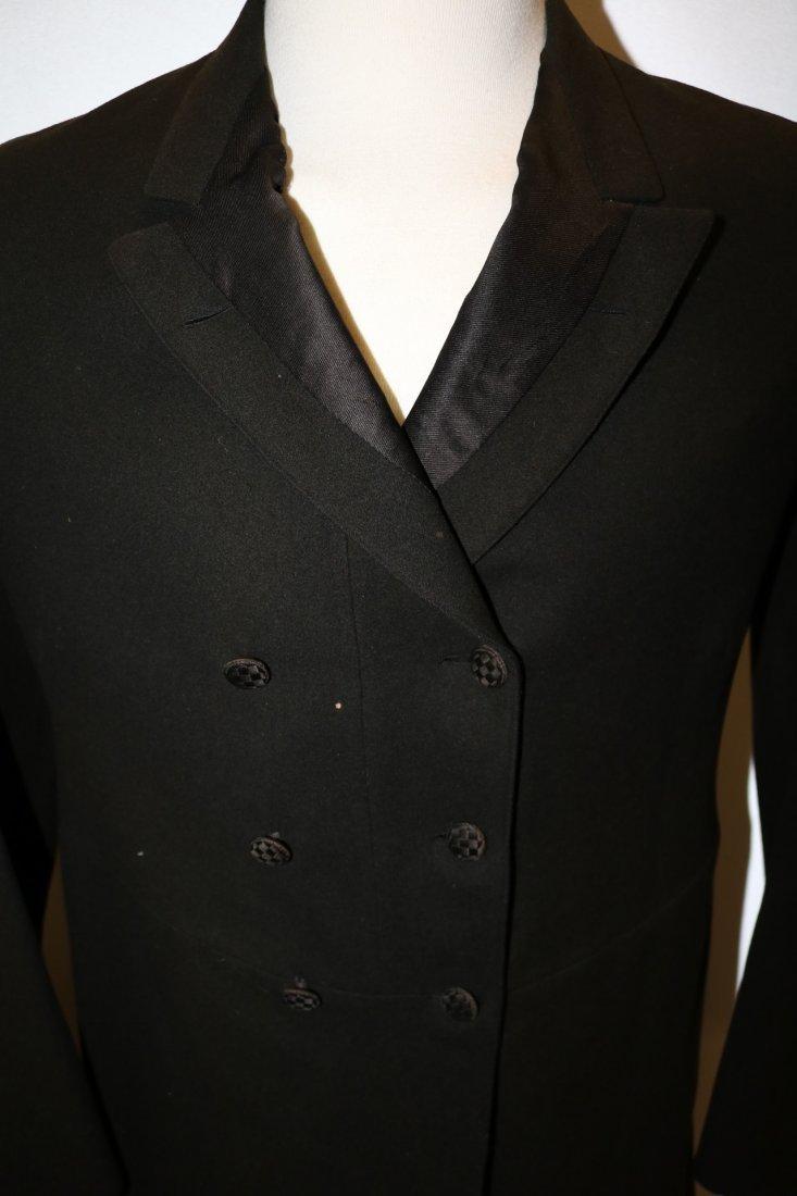 1903 Men's Double Breast Wool Suit/Tux Coat by R. - 2