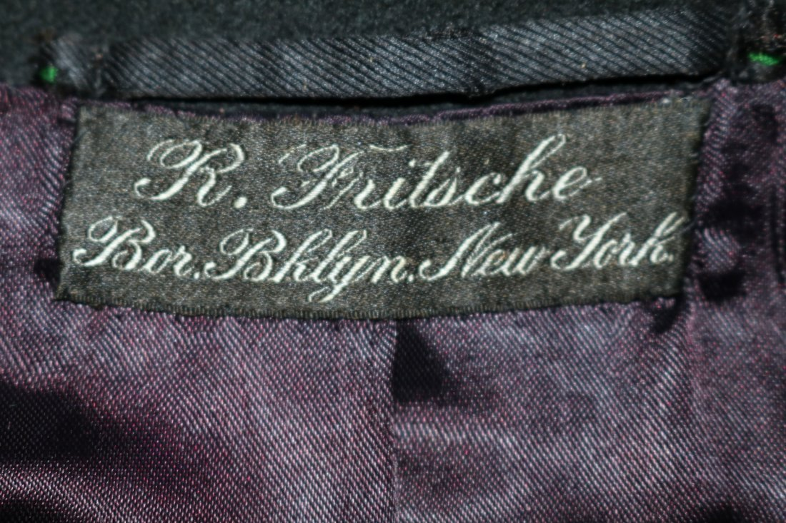 1903 Men's Double Breast Wool Suit/Tux Coat by R. - 5