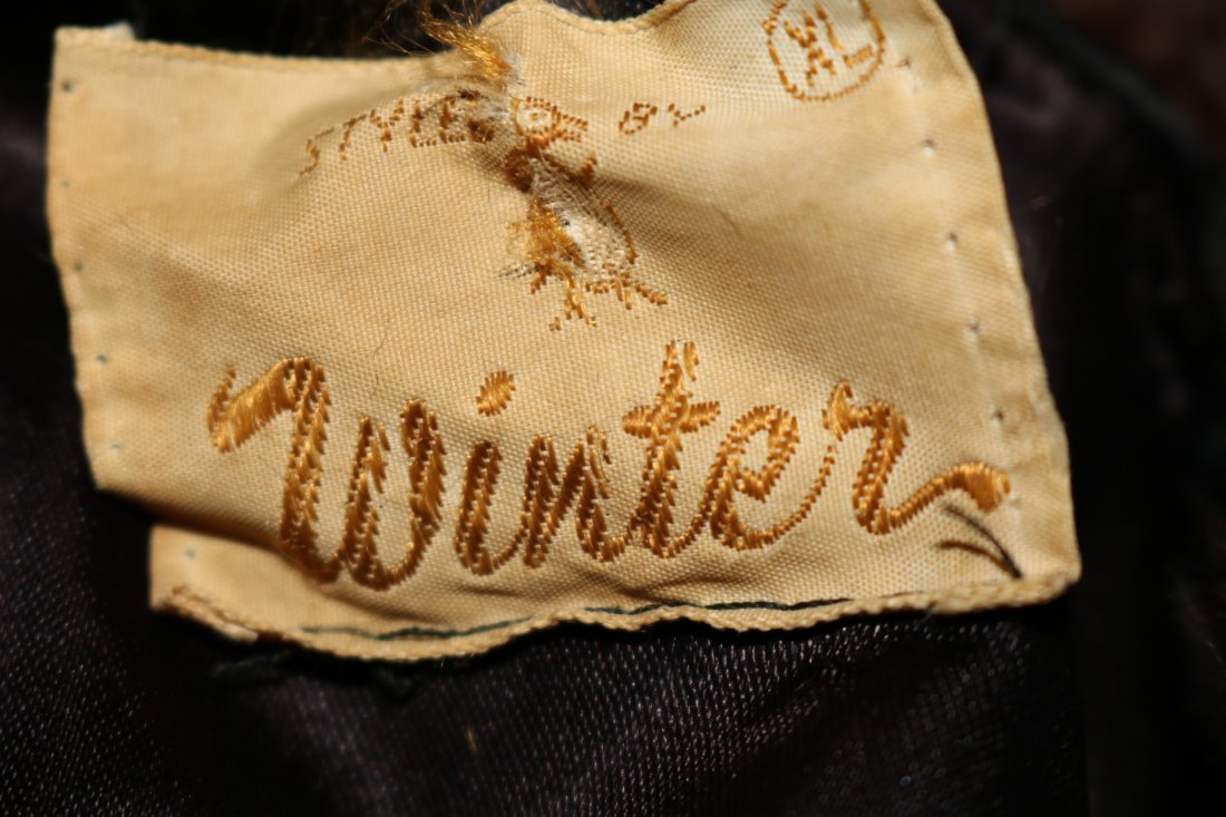 1950/60 Faux Sheered Beaver Swing Jacket with Mink - 5