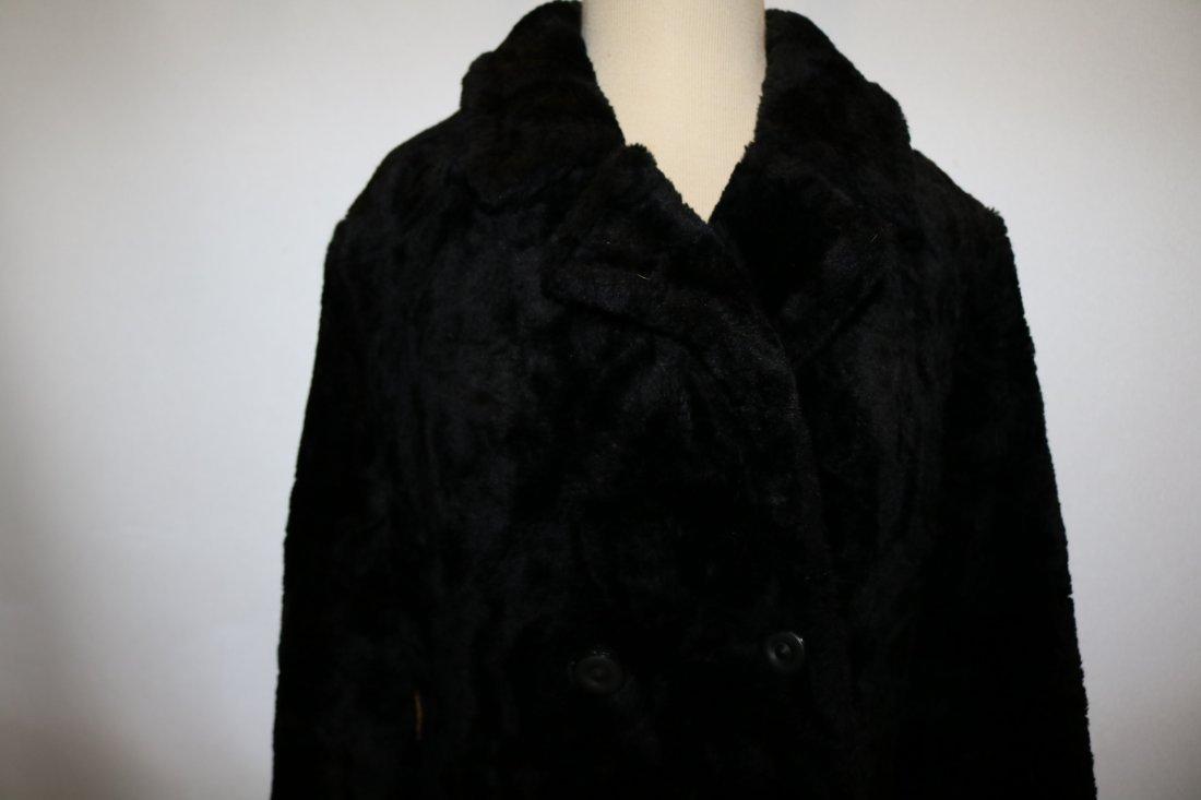 Vintage 1960's Faux Fur Coat by White Bear of Le Paul - 2