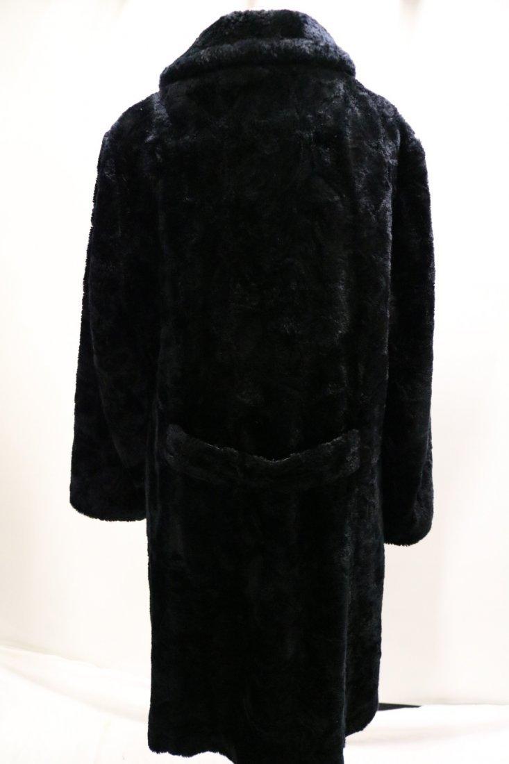 Vintage 1960's Faux Fur Coat by White Bear of Le Paul - 4