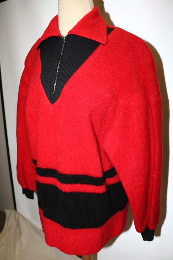 1950's Wool Blend Sweater Jacket by Phil Rose Fun - 2