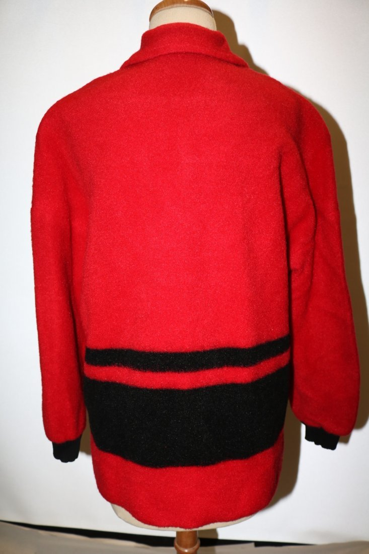 1950's Wool Blend Sweater Jacket by Phil Rose Fun - 3