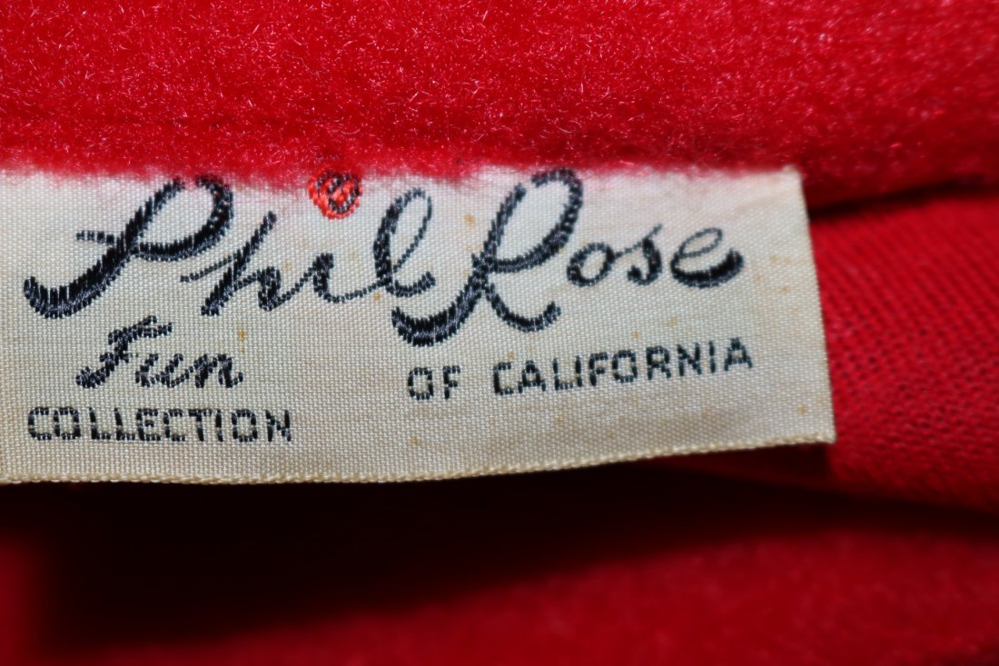 1950's Wool Blend Sweater Jacket by Phil Rose Fun - 4
