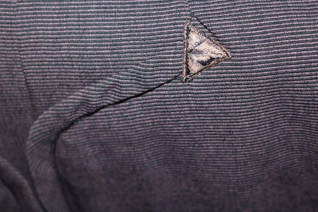1940's 2 piece Skirt & Jacket set, Purple Pin Stripe, - 7