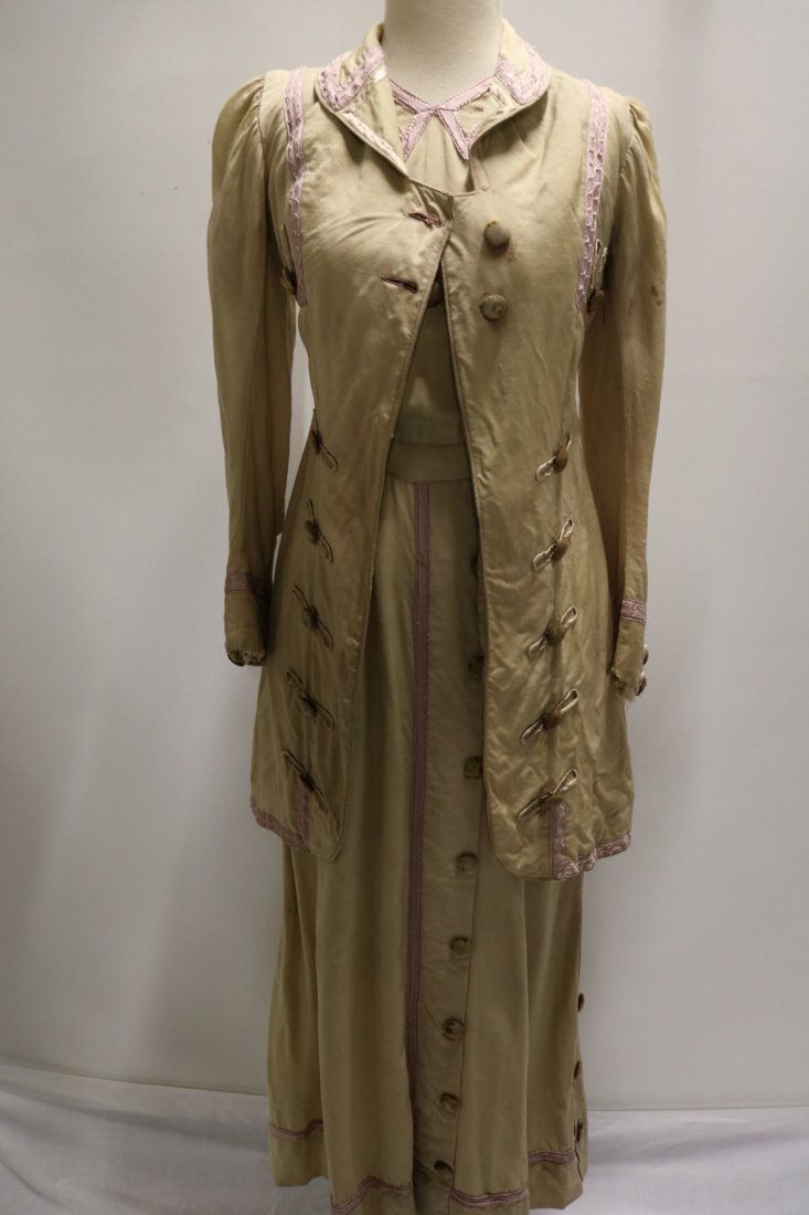 Edwardian 2 piece Walking Dress and Jacket with Lilac