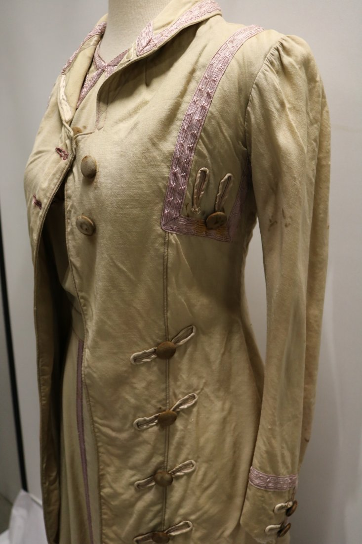 Edwardian 2 piece Walking Dress and Jacket with Lilac - 2