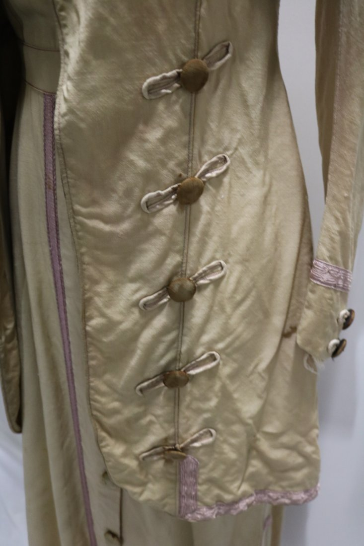 Edwardian 2 piece Walking Dress and Jacket with Lilac - 3