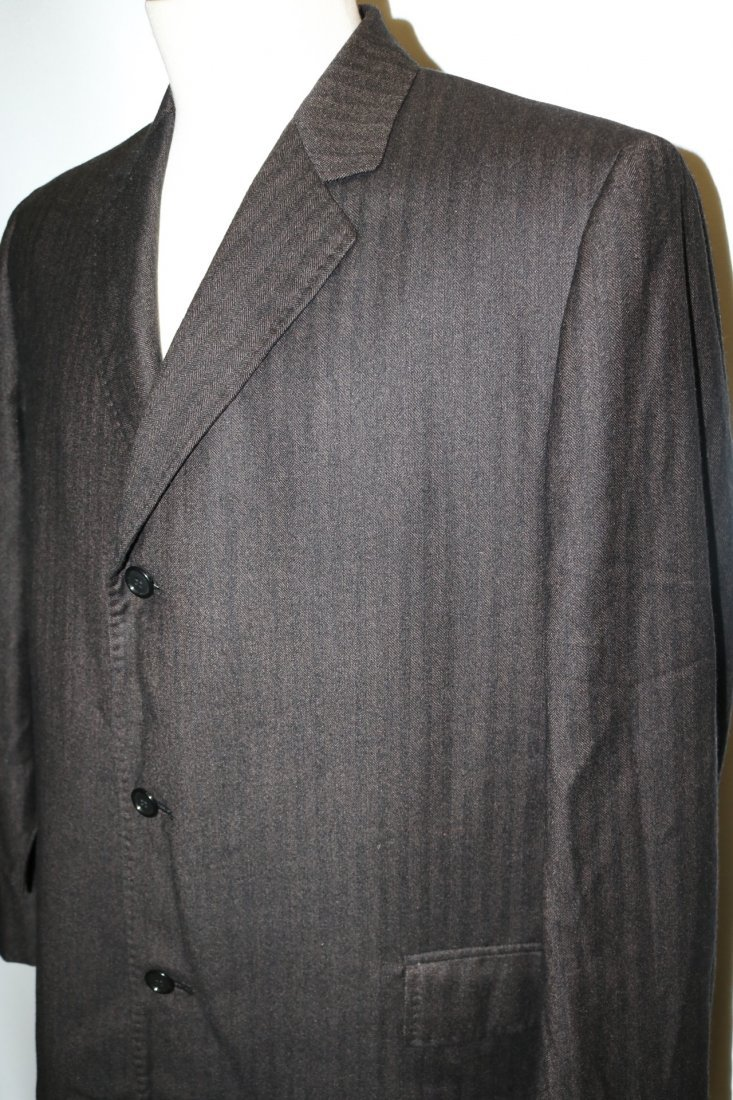 Vintage 1960's Men's Cashmere Wool blend Coat, by - 3