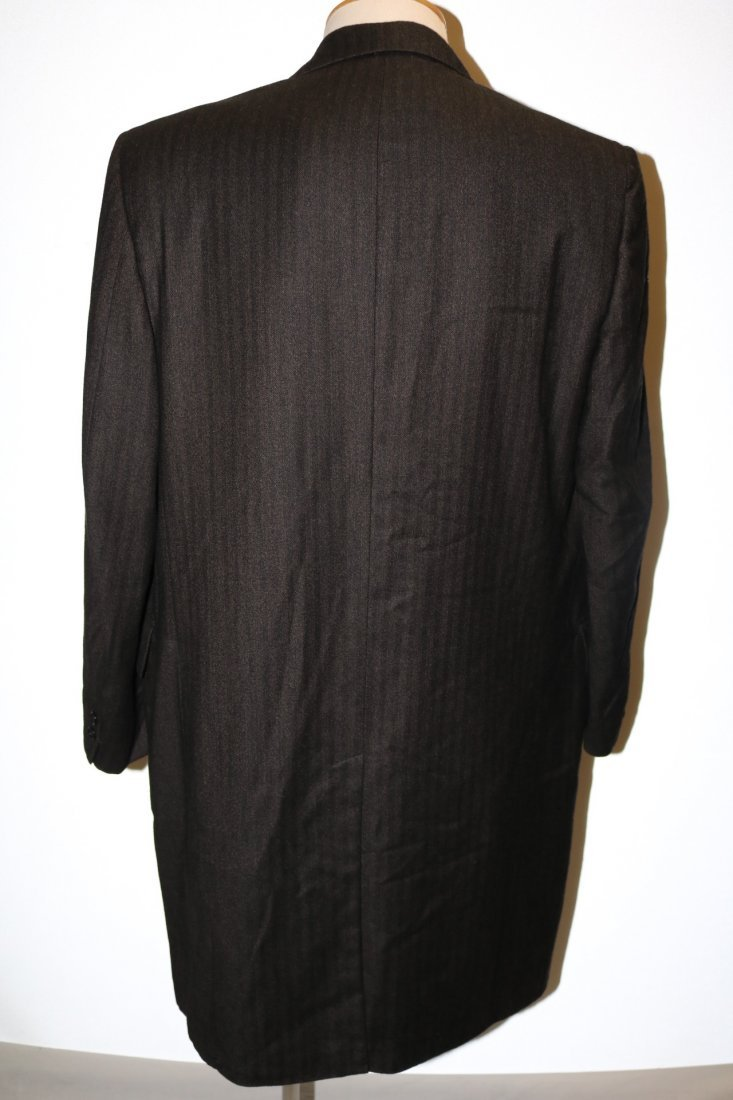 Vintage 1960's Men's Cashmere Wool blend Coat, by - 4