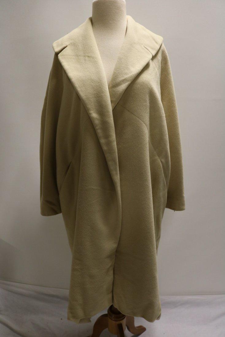 Ladies Vintage 1950's Cashmere Clutch Swing Coat,