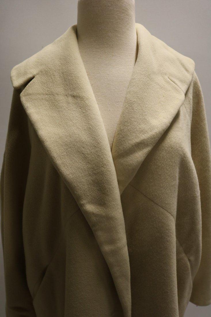Ladies Vintage 1950's Cashmere Clutch Swing Coat, - 2