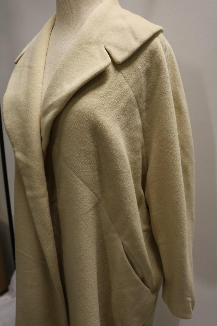 Ladies Vintage 1950's Cashmere Clutch Swing Coat, - 3