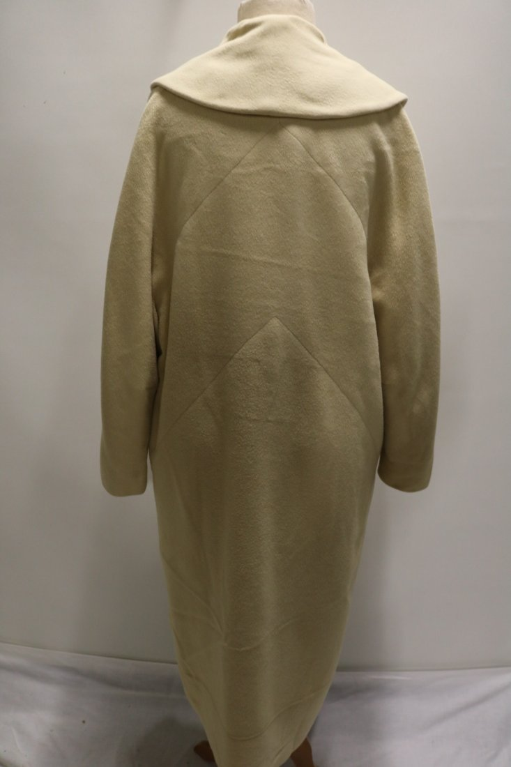 Ladies Vintage 1950's Cashmere Clutch Swing Coat, - 4