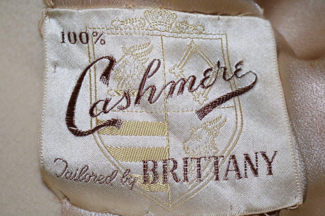 Ladies Vintage 1950's Cashmere Clutch Swing Coat, - 5