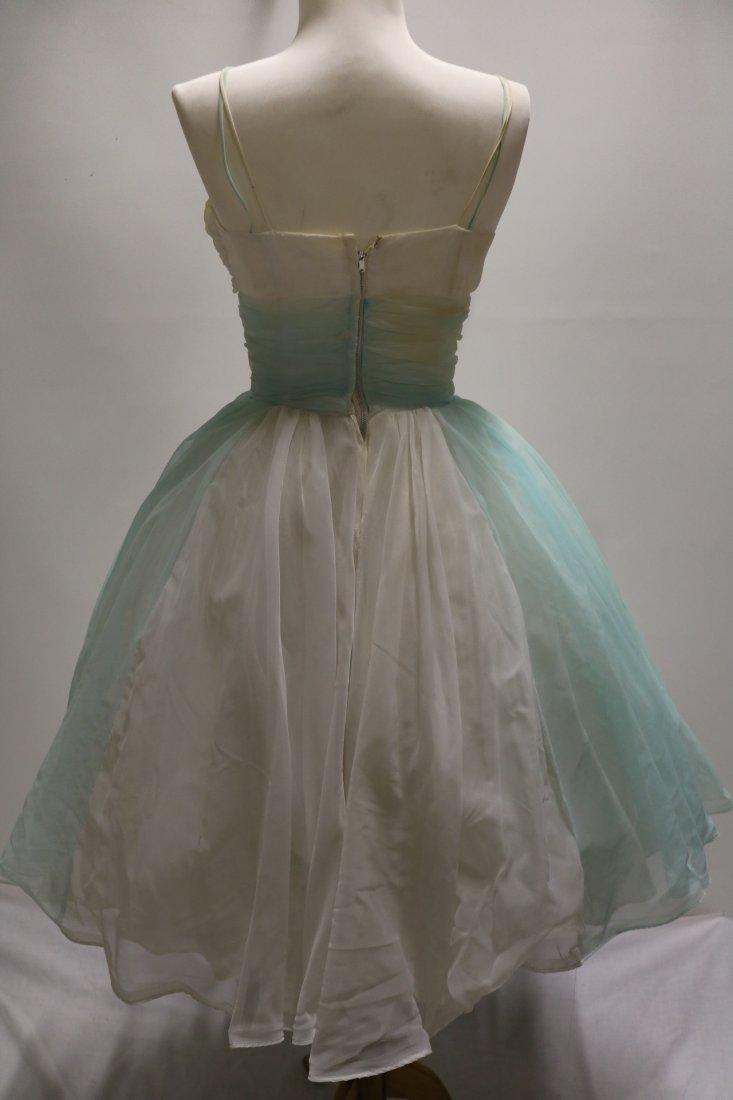 1950's Nylon Chiffon Sweat Heart Bodice Princess/Party - 4