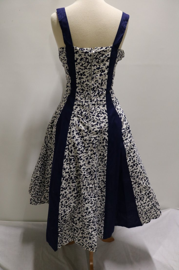 1950's Cotton Fit & Flare Dress by Royal Miss Fashions - 4