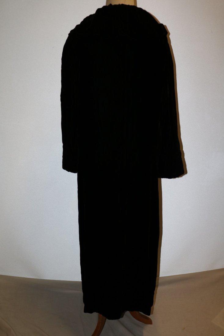 Victorian Velvet Opera Coat - 5