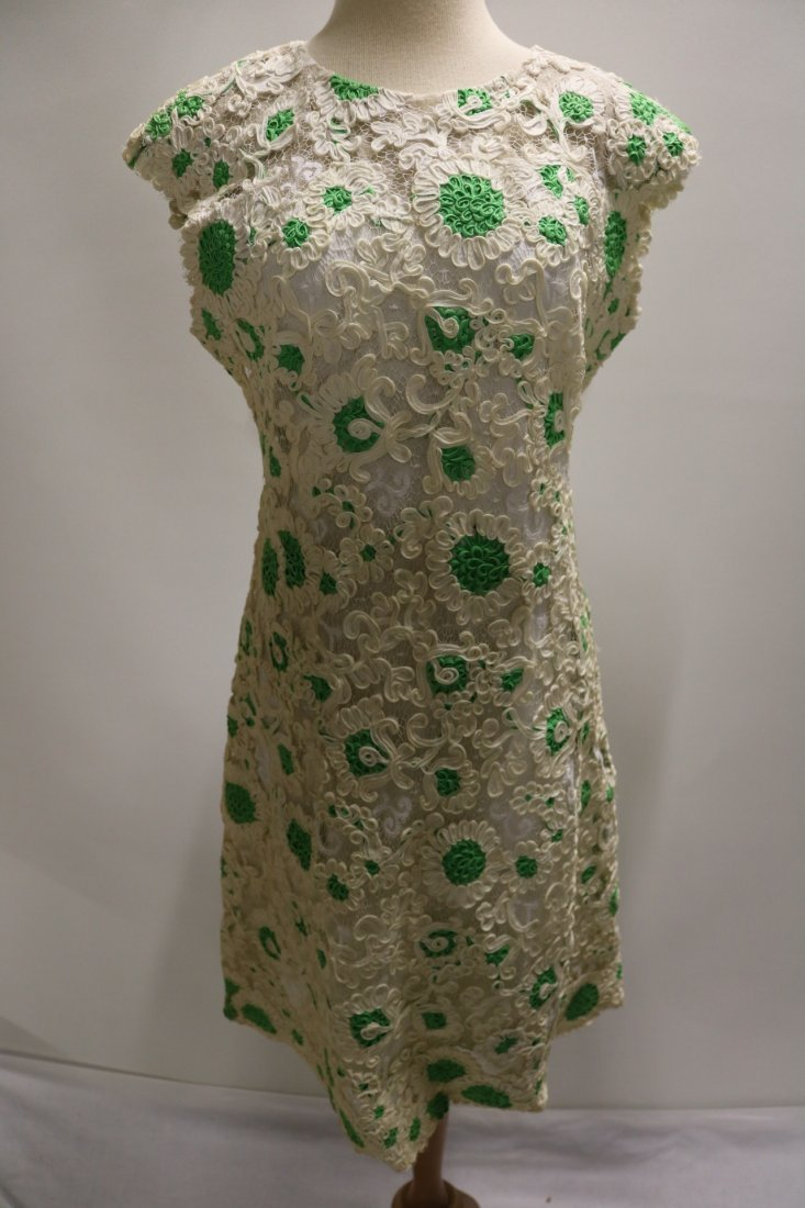 1960's Ribbon Dress by Esther Pomerantz fashions