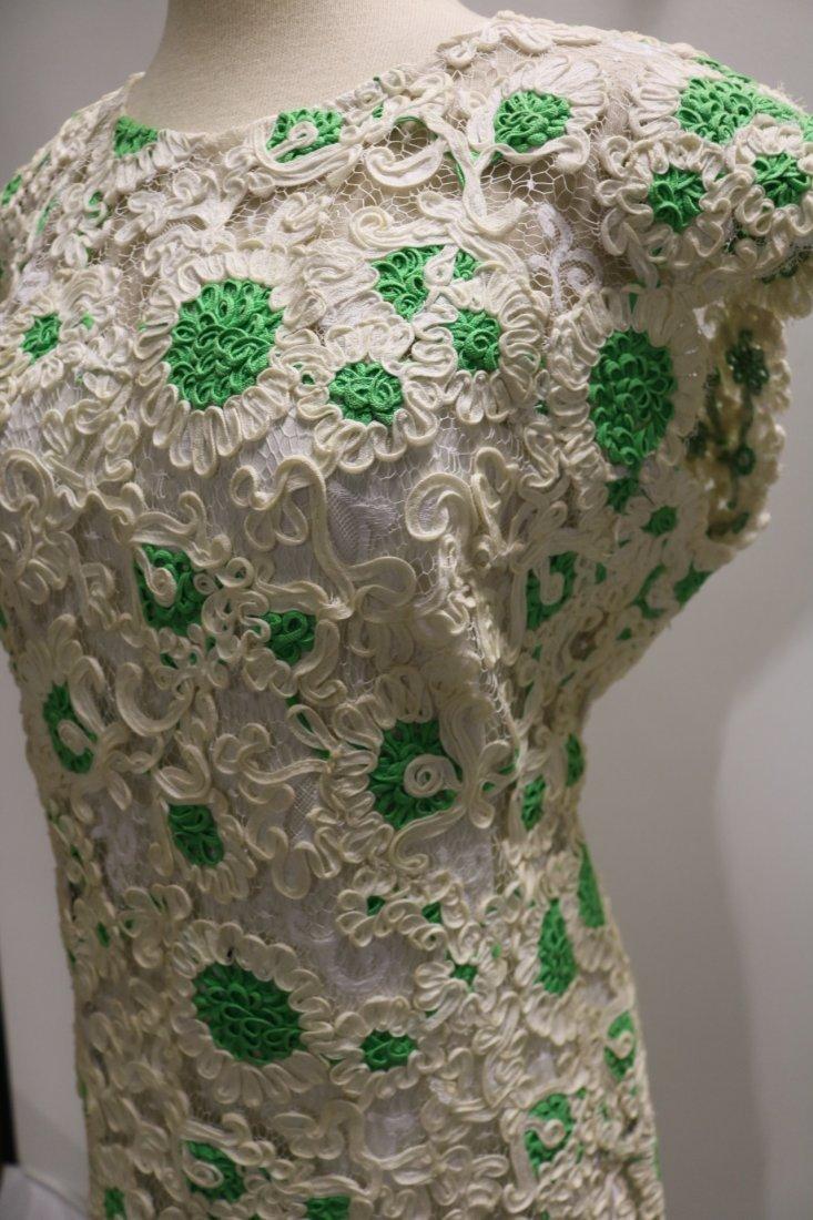 1960's Ribbon Dress by Esther Pomerantz fashions - 3